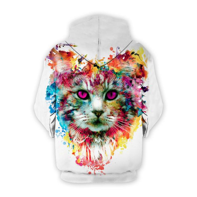 Cute Printed Unisex Hooded Sweatshirts