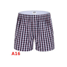 New arrival Boxers Full Cotton High Quality Mens Underwear Casual Boxer Shorts