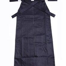 Высокое качество темно-синего хлопка Япония Кендо айкидо hapkido хакама платье форма для единоборств одежда для Кендо Iaido добок