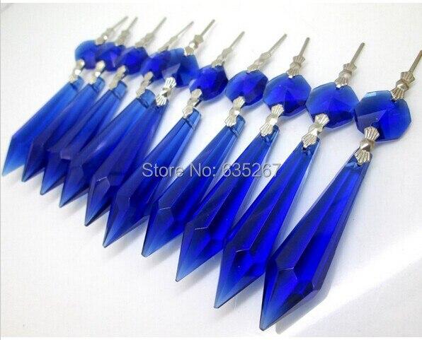 Kronleuchter Glaskristalle ~ Teile los sapphire farbe kronleuchter glas kristalle octagon