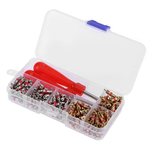 180pcs Car A/C Air Conditioning Valve Cores R134a  With Remover Tool O-Ring Adapter Repair Set Air Conditioning Accessory 10pcs set car air conditioning repair tool automobile valve core wrench tire remover installer for air conditioning installation