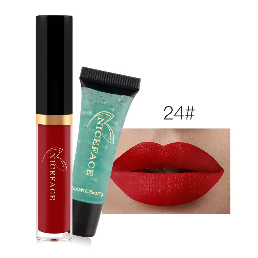 baolishi Brand Makeup matte Lip Gloss Waterproof batom