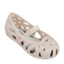 Mini Melissa PVC Children Shoes Bird 's Nest style Campana Zig Zag Slip On Flat (Toddler) Kids shoes