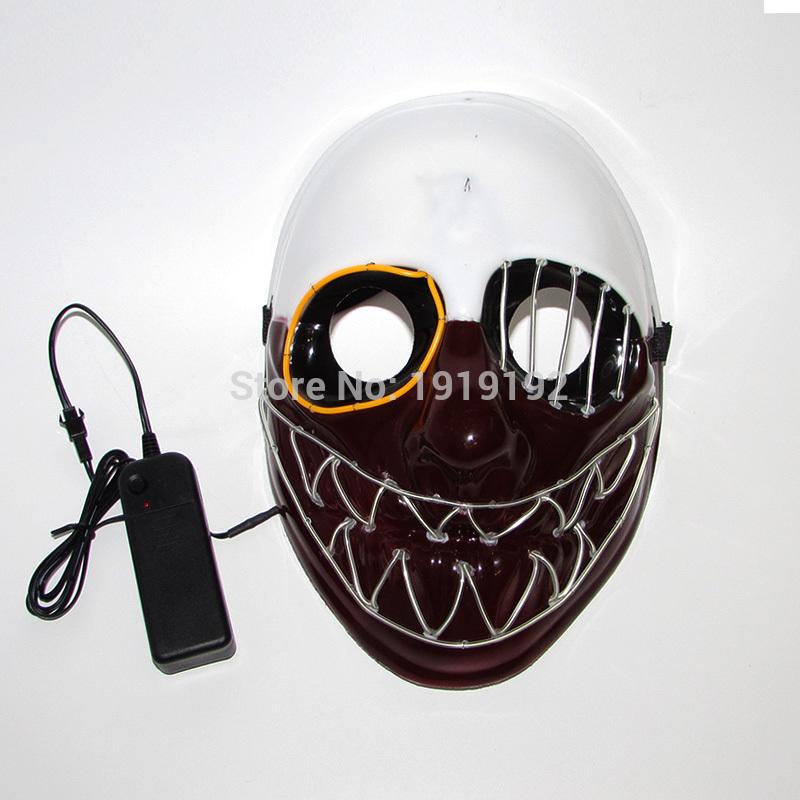 HTB1CBjlRVXXXXXAaXXXq6xXFXXXQ - Mask Light Up Neon LED Mask For Halloween Party Cosplay Mask PTC 260