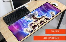 Yuzuoan Dragon Ball z padmouse 900x400x3 мм ноутбук большой коврик для мыши notbook компьютерная игровой коврик для мыши геймер коврики для игры для CSGO LOL