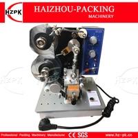 HZPK Electric Hot Ribbon Label Printing Machine Numbers Print Machine Plastic Film/Plastic Bag Date Printing With A Ribbon Free