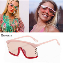 Outdoor Traveling Windproof Sunglasses Women Oversized Flat Top Sun Glasses for