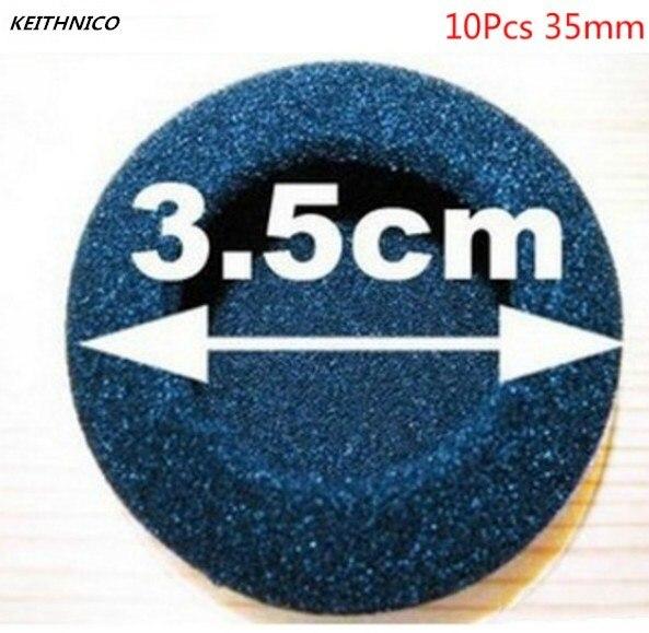 Keithnico 10Pcs 35mm Foam Earbud Ear Tips Ear Pads Replacement Sponge Covers For Headphone Headset Earphone MP3 MP4