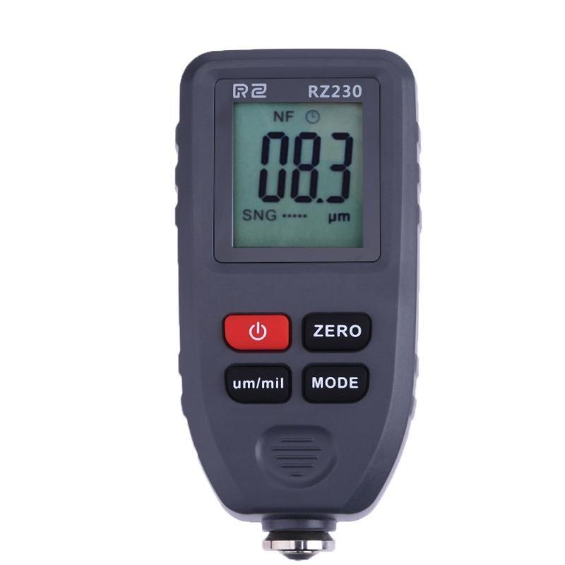 цена на New Digital Paint Meter Coating Thickness Gauge 0-1300um Paint Film Metal Surface Tester Car Coating Paint Thickness Gauge Meter