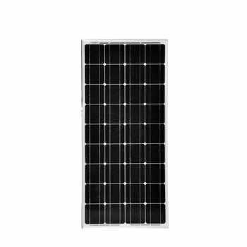 Panneau solaire chine 100 w 12 v monocristallin cellule solaire photovoltaïque pas cher panneaux solaires chine 18 volts chargeur placas solares