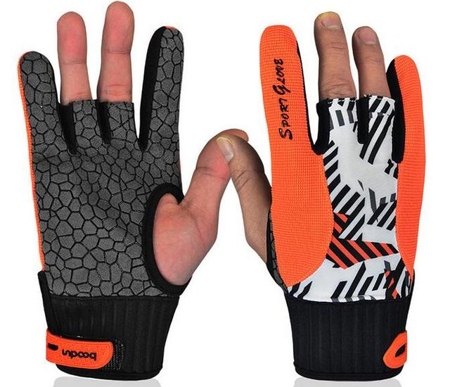 Wholesale High quality bowling gloves Silicone anti-slip gloves for Bowling