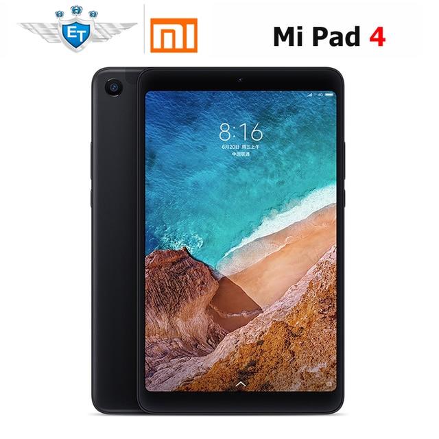 "Original Xiaomi Mi Pad 4 Tablets 4 8"" 16:10 Screen Snapdragon 660 AIE Core 13MP Back Camera AI Face Wifi LTE 4GB 64GB 6000mAh"