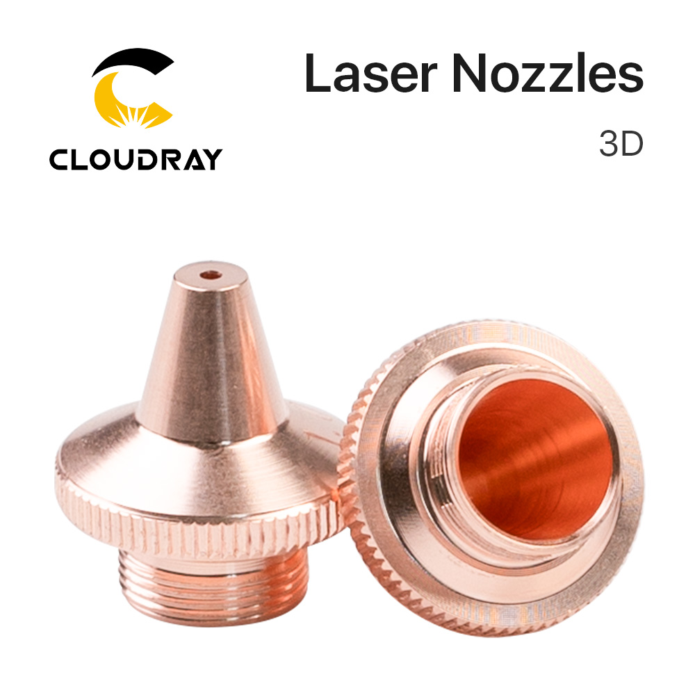 Cloudray PRECITEC 3D Fiber Laser Nozzle M9 D14.2mm H15.4mm Raytools Laser Cutting Machine Accessories