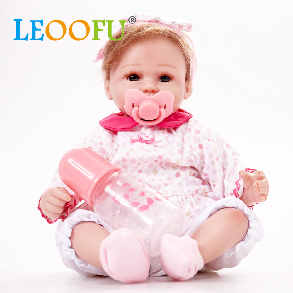 Good Baby Christmas Gifts: LEOOFU 17inch Baby Christmas Gifts Bebe Reborn Dolls For