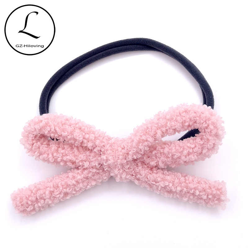Baby Bows Newborn Boys Girls Bow Headband Boneless Comfort Infant Princess Headdress Baby Girl Elastic Headwear Hair Accessories