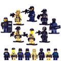 KR 8pcs military swat counter-strike army building blocks brick brinquedos juguetes educativos compatible with
