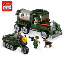 Enlighten Models Building toy Compatible with Lego E1706 223pcs Vehicle Blocks Toys Hobbies For Boys Girls Model Building Kits
