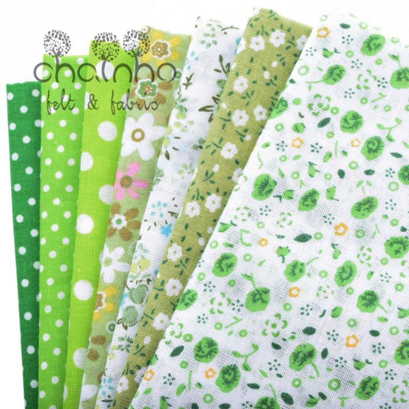 Tunn bomullstygpatchwork för sömnad Scrapbook Cloth Fat Quarters - Konst, hantverk och sömnad - Foto 4