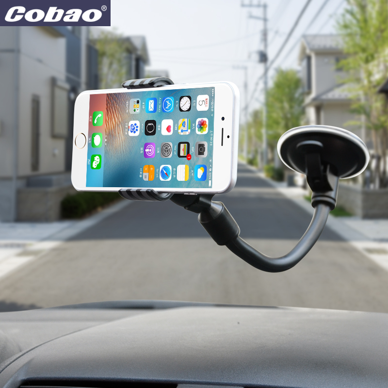 2017 Real New Auto Windshield holder Universal Car CellPhone Holder For iphone Stand Support Sucker Mobile