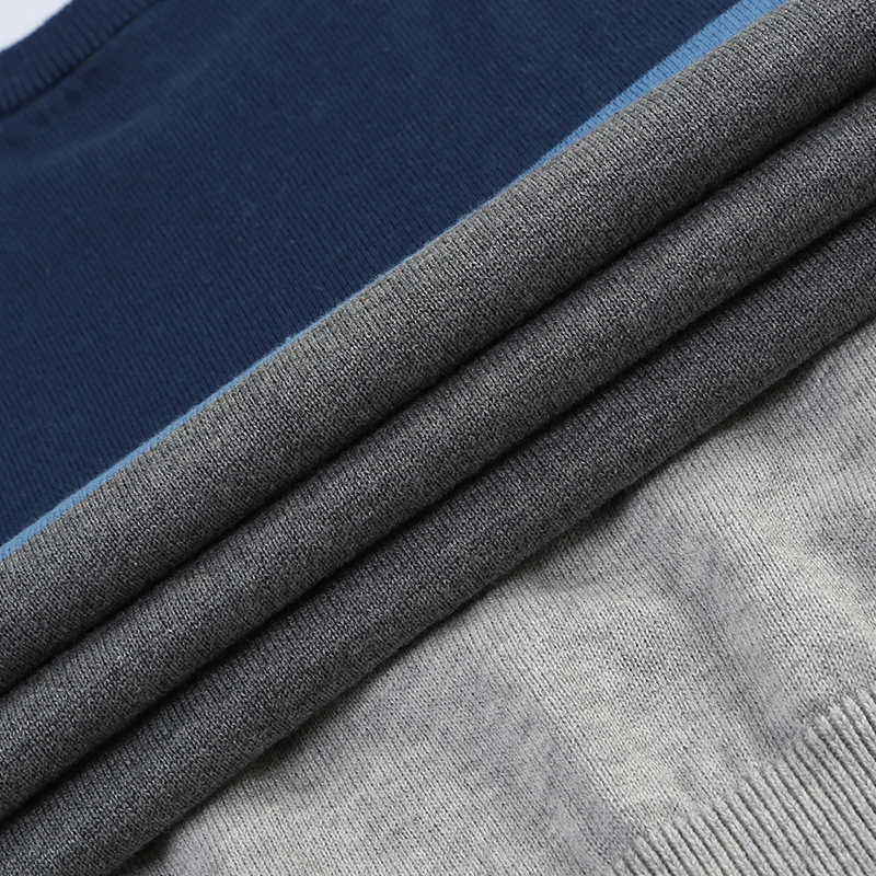 2017 Новый Осень Модный Бренд Случайные Свитер О-Образным Вырезом Полосатый Slim Fit Вязание Мужские Свитера И Пуловеры Мужчины Пуловеры Мужчины М-5XL