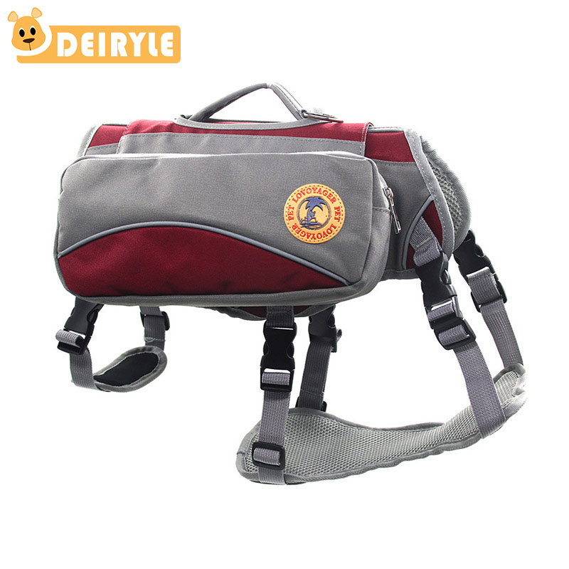 Pet Outdoor Portable Dual-use Dog Backpack Harness Pet Dog Carry Bag Travel Bag For Training HikingPet Outdoor Portable Dual-use Dog Backpack Harness Pet Dog Carry Bag Travel Bag For Training Hiking