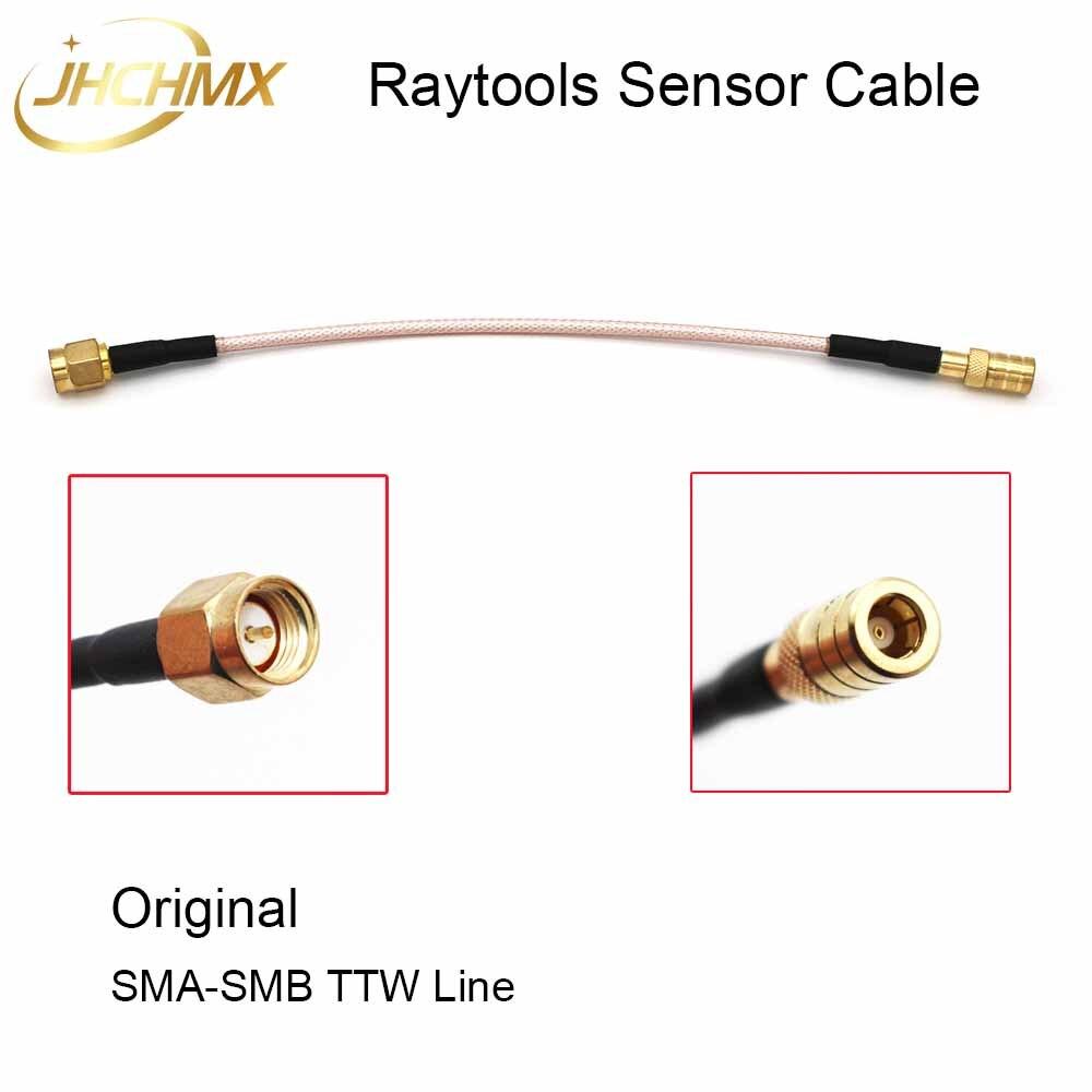 JHCHMX Original Raytools Sensor Cable Transformer Wire SMB-SMA TTW Line For Raytools Fiber Laser Cutting Head BT230/BT240 BM110