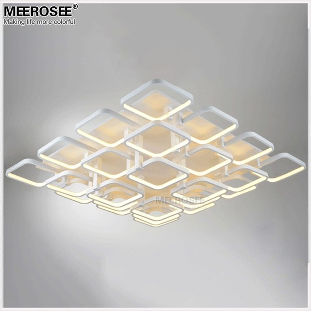 high quality led flush mounted ceiling light fitting modern white