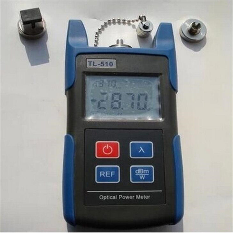 70 to 10dBm TL510 Portable Optical Power Meter With SC and FC Connector Fiber Tester