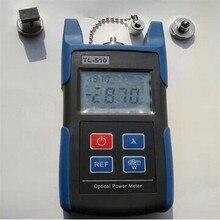 -70 a + $ number dbm TL510 Medidor de Potencia Óptica Portátil Con Conector SC y FC Fibra Probador