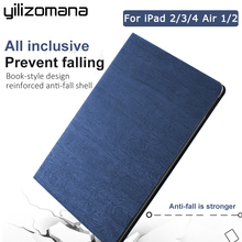 YILIZOMANA Smart Flip Stand Case Luxury Resin pattern For iPad 2 3 4 5 6 Air 1 2 2017/2018 Hard Back Cover Auto Sleep/Wake Up стоимость