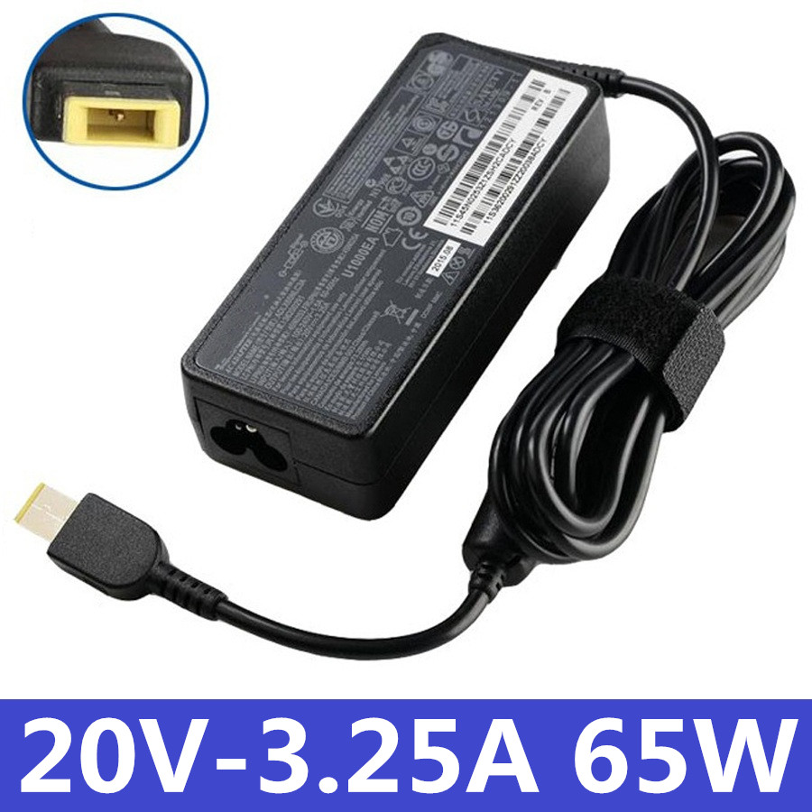 65W 20V 3.25A for Lenovo Thinkpad T440 T440S T450 T450S T460 T460S T440P T540P Laptop Genuine AC Adapter Charger Power Supply 135w 20v 6 75a laptop charger adapter power for lenovo ideapad z710 thinkpad t440p t450p adl135nlc3a