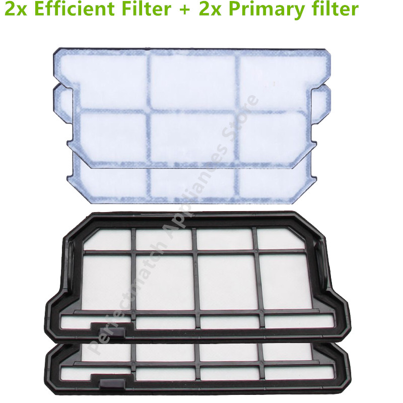 Original Primären Effiziente staub HEPA-Filter für ilife v7 teile ilife V7S V7 V7s pro Roboter-staubsauger teile filter zubehör