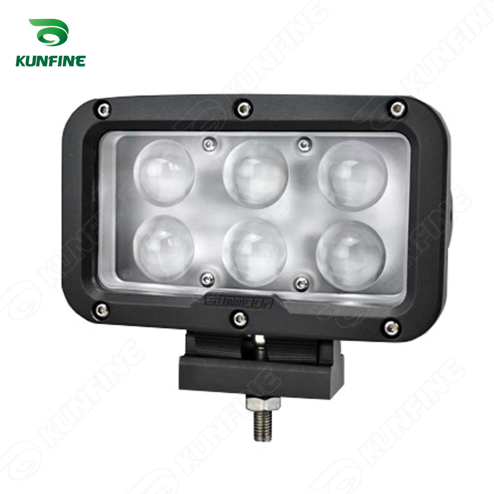 ФОТО 10-50V/60W Car LED Driving light LED work Light led offroad light for Truck Trailer SUV technical vehicle ATV Boat KF-L2058