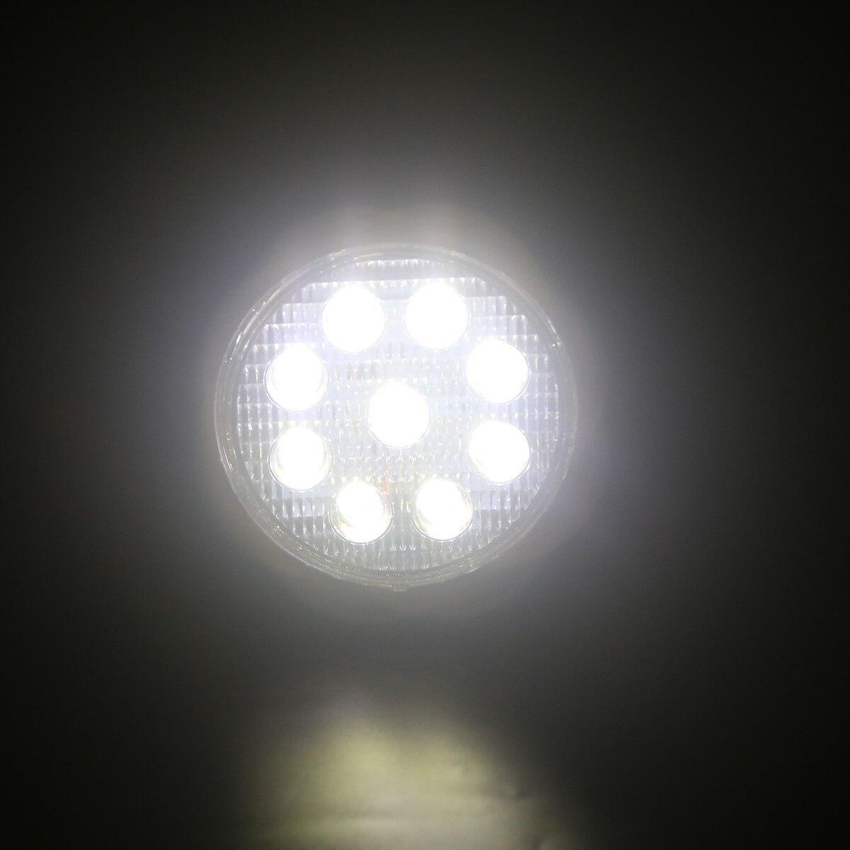 4 дюймов Светодиодный Светлое пятно Наводнение свет работы бар для внедорожного трактор ATV UTV 4x4 лодках Охота автомобиля OffRoad лампы 12 В 24 В IP67
