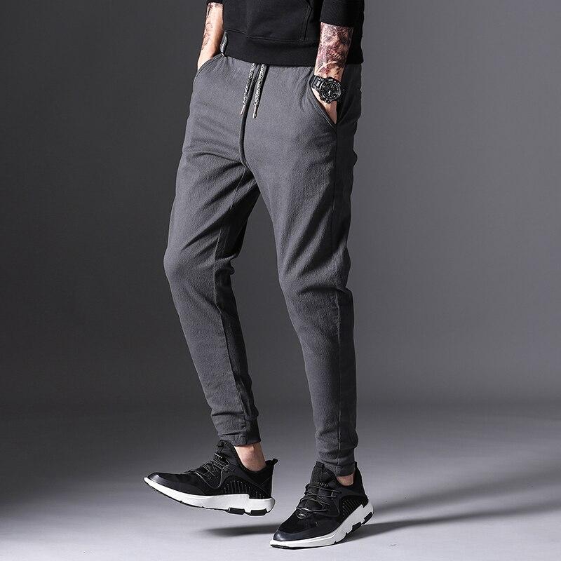 Spring Autumn Brand Mens Casual Pants Men Regular Mens Sweat Pants Cotton Sportswear Menswear Joggers Long Trousers Sweatpants