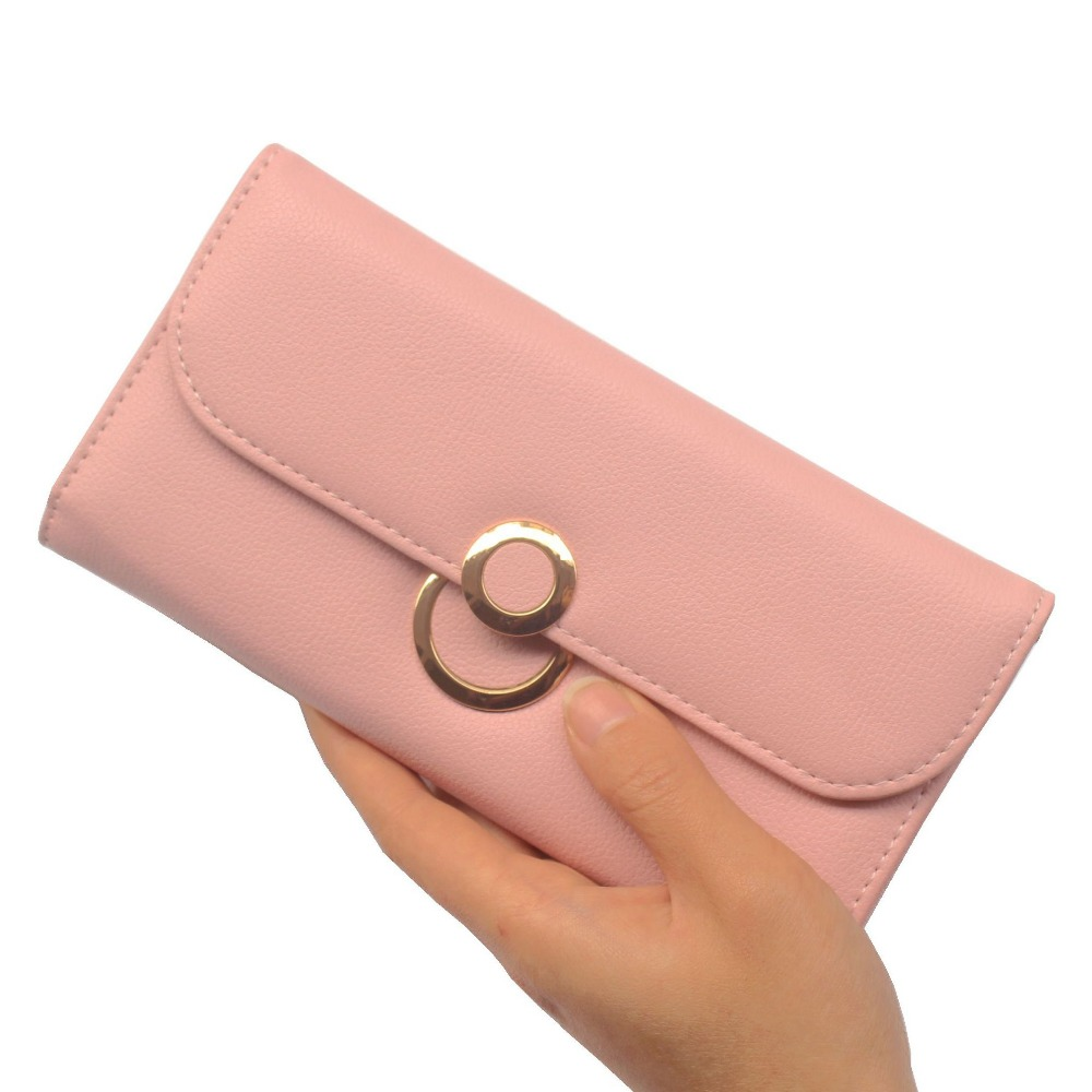 Fashion brand PU leather wallet women clutch purses and handbags rfid wallet female coin purse womens wallets and ladies purses