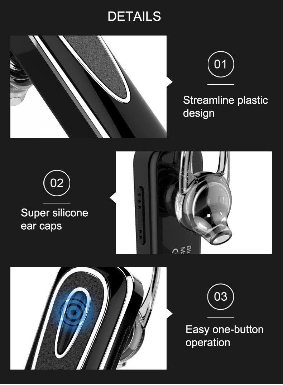 Original SltcrPasion Teléfono Auricular Bluetooth con micrófono - Audio y video portátil - foto 4