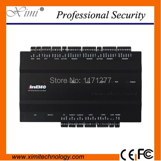 ZK Inbio260 Biometric access controler RS485&TCP/IP fingerprint access panel 100000 logs Web-based management free software SDK