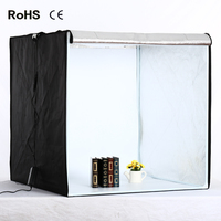 80cm*80cm/31.5inch*31.5Inch Photo Tent Table Photography Soft Box Kit LED light Aluminium reflection fabric inside CD15