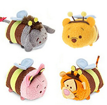 in stock tsum tsum plush toys bear tigger piglet eeyore. Black Bedroom Furniture Sets. Home Design Ideas