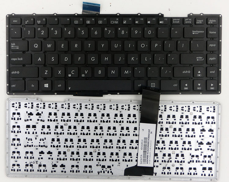 SSEA NEW US <font><b>Keyboard</b></font> for <font><b>ASUS</b></font> <font><b>X401</b></font> X401K X401E X401U X401A Laptop <font><b>Keyboard</b></font> without frame image