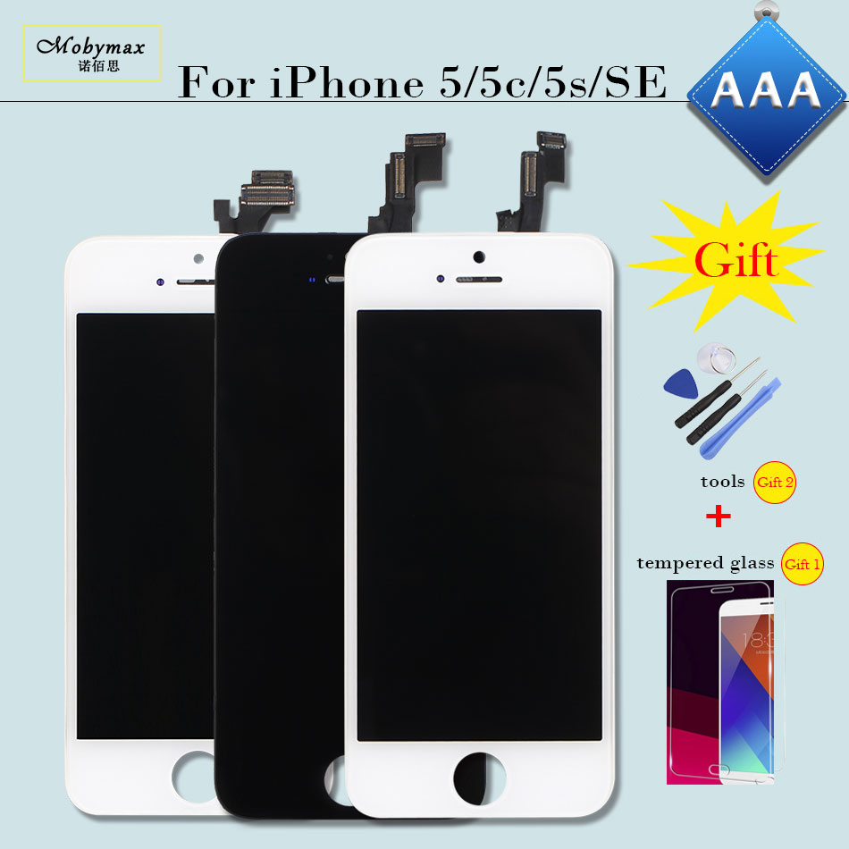 LCD Screen for iPhone 6 5 5S 5C SE Replacement Display Screen Digitizer Assembly for iphone5 5c 5s se 6 LCD