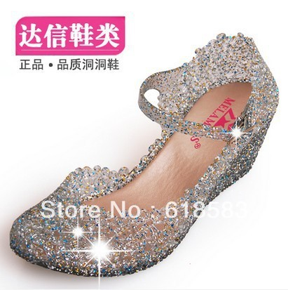 Women s Gold Black Red Color Waterproof Diamond Bow Dazzling High Heels  Shoes Wedding Bridal shoes 817c206666fb