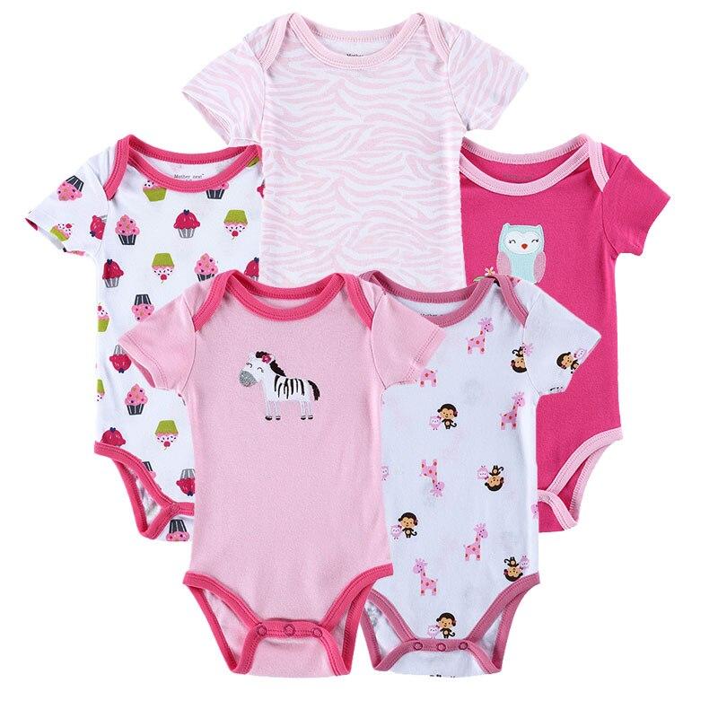Baby-Bodysuits-Newborn-Ropa-Bebe-5pcs-lot-100-Cotton-Raccoon-Body-Babies-Boy-Girl-Boy-Baby-Bodysuits-0-12-Months-Baby-Clothes-2