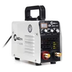 IGBT Mini 220V 400A inwerter Hot Start MMA spawacz łukowy spawarka narzędzia do spawania praca elektryczna praca w/akcesoria