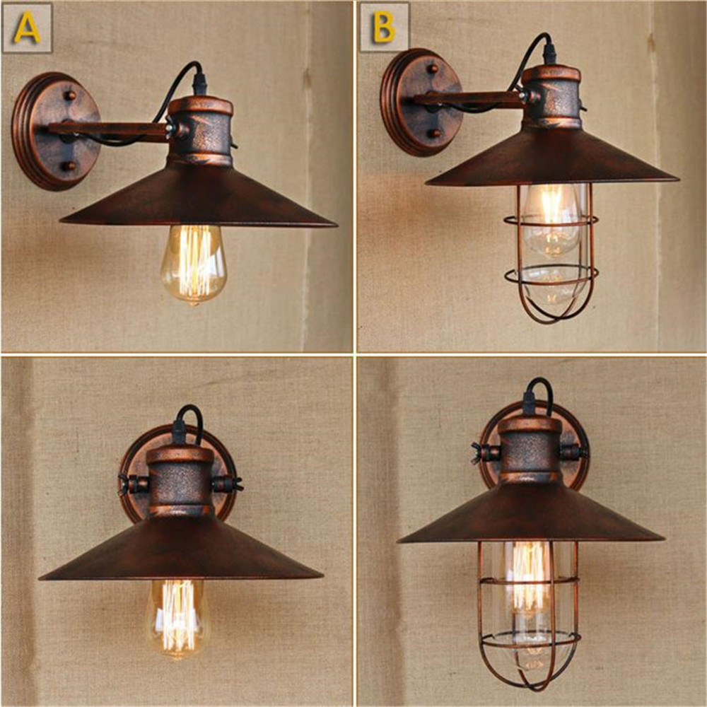 Industrial Loft Style Edison Wall Sconce Adjust Swing Arm Vintage Wall Lamp Iron Wall Light Fixtures For Indoor Lighting loft style swing arm edison wall sconce bedside wall lamp antique iron vintage wall light fixtures for home indoor lighting