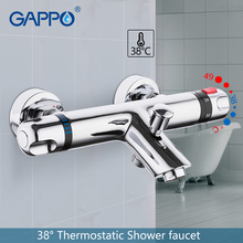 цена на GAPPO thermostatic Shower faucet bathroom mixer tap bath faucets Waterfall taps bath bath set bathroom system