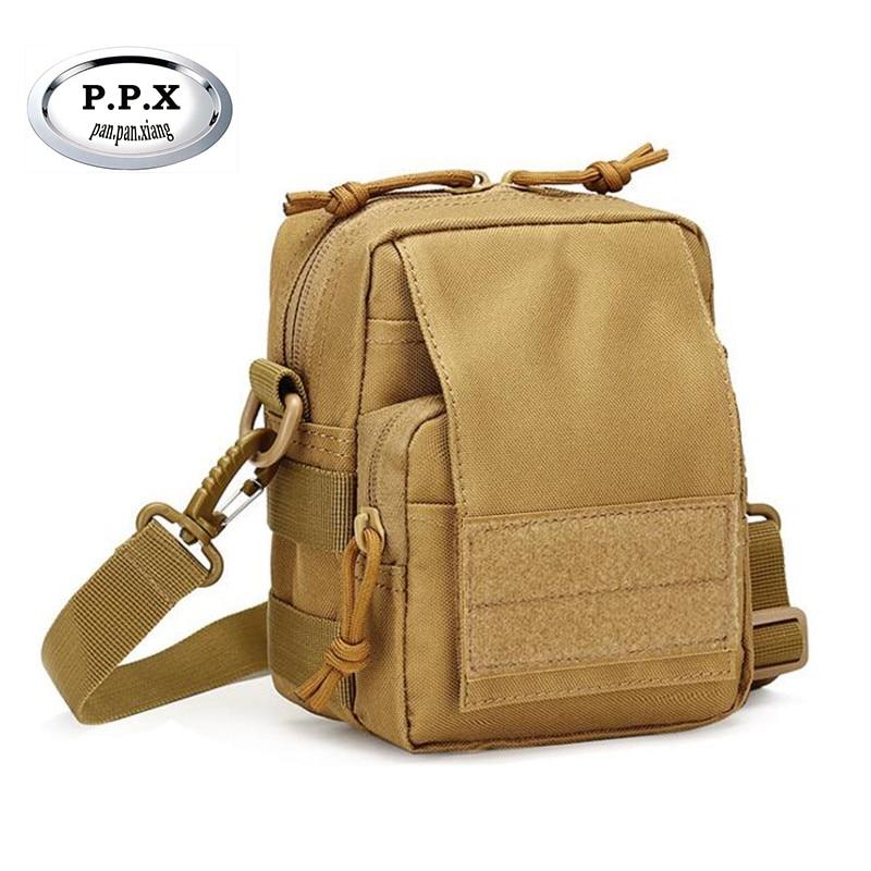 Camouflage Canvas Waist Packs Crossbody Bag Outdoor Climbing Bag Travel Bottle Bag high quality military Camouflage Handbag S324