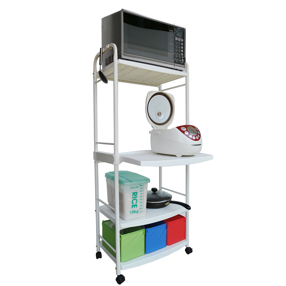 Kitchen Trolley Cart Costway Rolling Kitchen Cart Island Wood Top Storage Stainless Steel