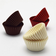 500/1000 Pcs Chocolate Paper Muffin Cupcake Liner Baking Cups Cake Stand Decorating for Party Wedding Cupcakes Cases